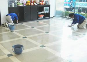 表面のふき取り及びごみの除去
